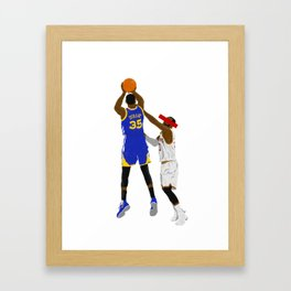 The shot Framed Art Print