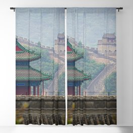 The Great Wall of China Blackout Curtain