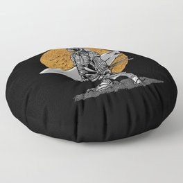 Samurai Surfer Floor Pillow