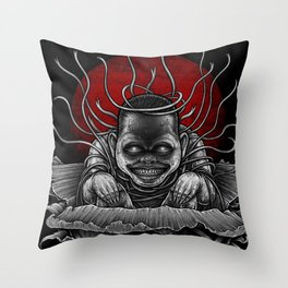 Winya No. 127 Throw Pillow