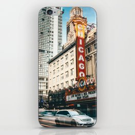 chicago strret iPhone Skin