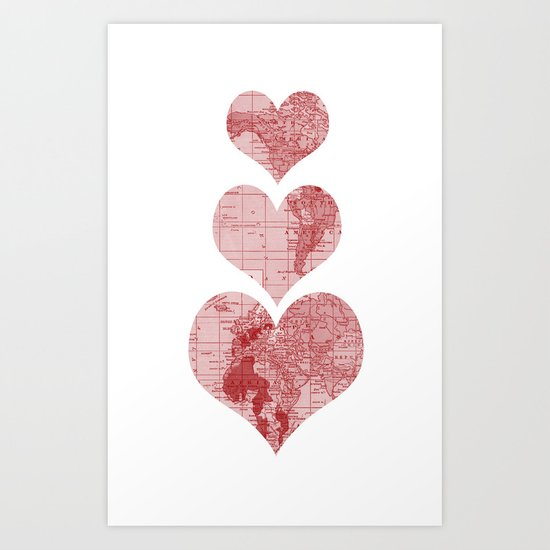I Love, Love, Love, You Art Print