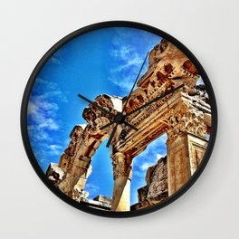 Ephesus Arch Wall Clock