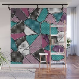 Country patchwork Wall Mural