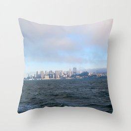 SF from the Bay Throw Pillow