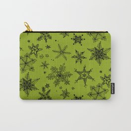 Snow Flakes 10 Carry-All Pouch