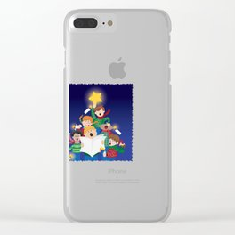 Children's Christmas Clear iPhone Case