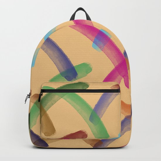 Colourful patterns Backpack