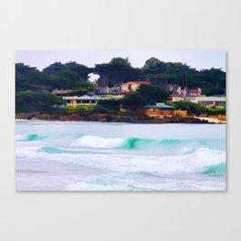 Carmel By The Sea Canvas Print