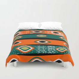 Native lines Duvet Cover