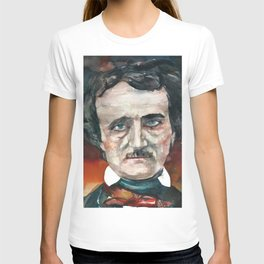 EDGAR ALLAN POE - watercolor portrait.4 T-shirt