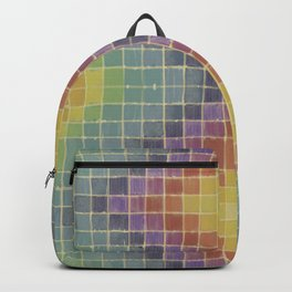 Chromatic Patchwork  Backpack