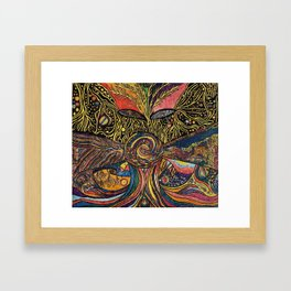 Roots of Life Framed Art Print