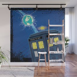 """"""". . . LADIES AND GENTLEMEN, WELCOME TO CHRISTMAS."""" Wall Mural"""