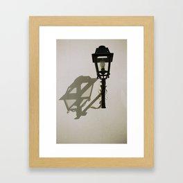 la lumiére Framed Art Print