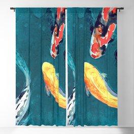 Water Ballet Blackout Curtain