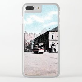 ca 1900 Herald Square New York City Clear iPhone Case