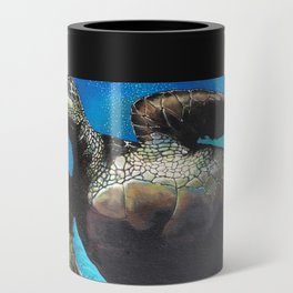 Sea Turtle Can Cooler
