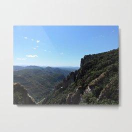 Montserrat Mountain View Metal Print