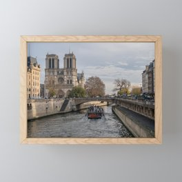 Notre Dame de Paris Framed Mini Art Print