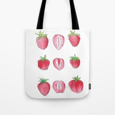 strawberry doodles Tote Bag