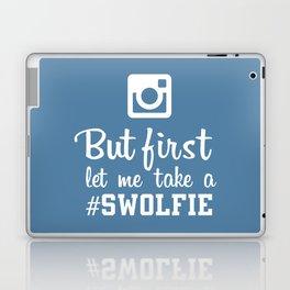 #swolfie Laptop & iPad Skin