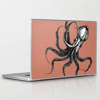 squid Laptop & iPad Skins featuring Squid  by Aubree Eisenwinter