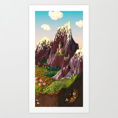 Vale Art Print