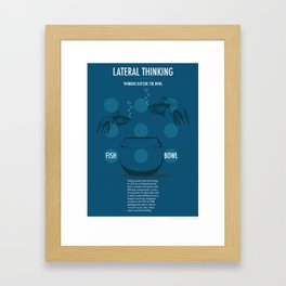 Lateral Thinking Framed Art Print