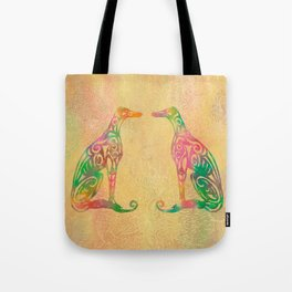 Lottinky Greyhounds - Summer Garden Tote Bag