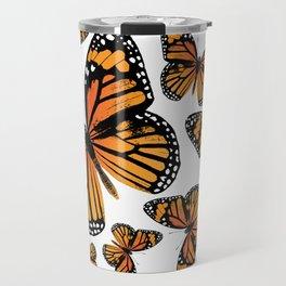 Monarch Butterflies | Monarch Butterfly | Vintage Butterflies | Butterfly Patterns | Travel Mug
