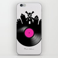 amsterdam iPhone & iPod Skins featuring Amsterdam  by mark ashkenazi