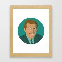 Queer Portrait - Paul Lynde Framed Art Print