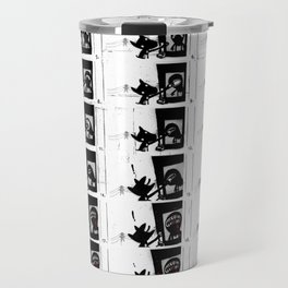PAW DOG - flipbook/flickbook print Travel Mug