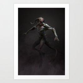 Swamp Demon Art Print