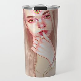 Opened third eye Travel Mug