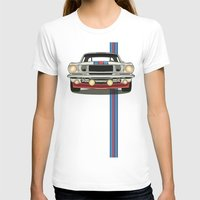 mustang T-shirts featuring Martini Mustang by Marius Dumitrascu