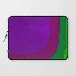 Purple on the Left Side Laptop Sleeve