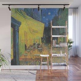 Vincent van Gogh - Cafe Terrace at Night Wall Mural