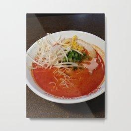 Food Series - Ramen Metal Print
