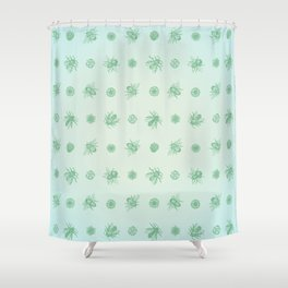 Bee Pattern, soft fuzz Shower Curtain