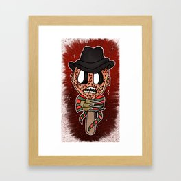 1, 2, Freddy's Coming for you Framed Art Print