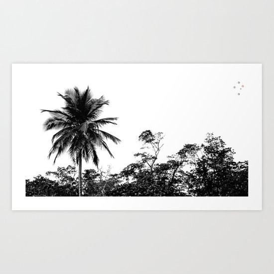 Palm Tree Supreme Art Print