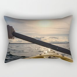 Into the Wild Waters Rectangular Pillow
