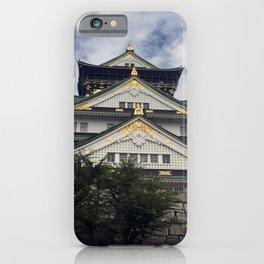 Osaka Castle, Osaka, Japan iPhone Case