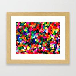 Kaleidoscopic Framed Art Print