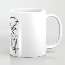 Octopus Handmade Drawing, Made in pencil, charcoal and ink, Tattoo Sketch, Tattoo Flash, Sketch Coffee Mug