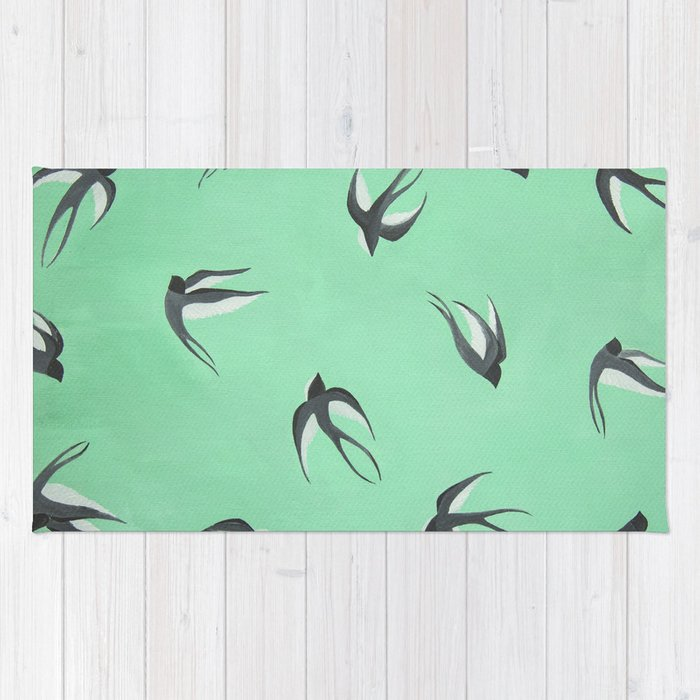 Swallow Dive Rug