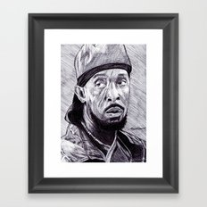 Omar Little Framed Art Print