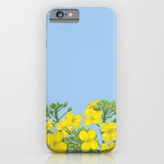 Summer flower in yellow Slim Case iPhone 6s